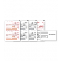 Laser 1099-DIV Tax Forms & Envelopes
