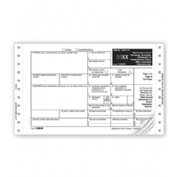 Continuous 1099-R Tax Forms - Magnetic Media Mailer