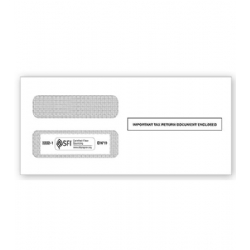 1099 Tax Form Envelopes - Double-Window