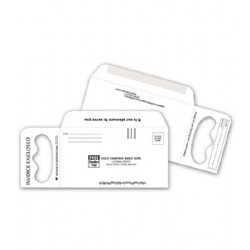 Door Hanger Envelope for Invoices