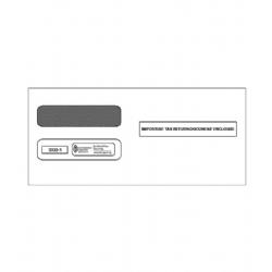 Laser W-2 Tax Envelopes - Double-Window