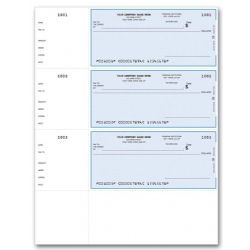 Business Checks - Wallet Size
