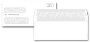 Confidential Self-Seal Two Window Envelopes