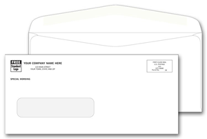 Confidential Window Envelopes