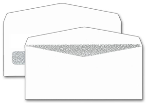 One Window Check Envelopes - Confidential