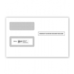 1099 Tax Form Envelopes - Double-Window, Self-Seal