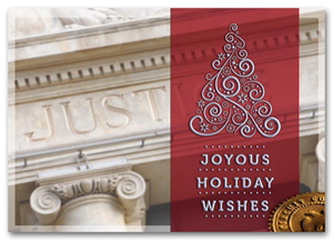 HML1505, Legal Holiday Cards - Classic Appeal