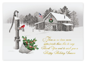 H14641, Sincere Thanks Holiday Cards