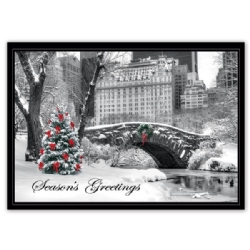 HP15308, City Snow Day Holiday Cards