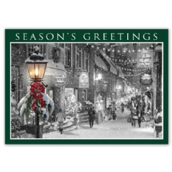 HP15314, Main Street Glow Holiday Cards