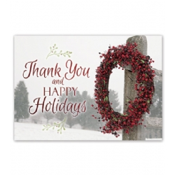 Holiday Thank You Card- Simply Thankful