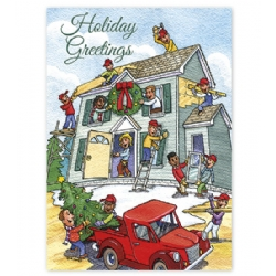Holiday Contractor Cards- Cheerful Contractors