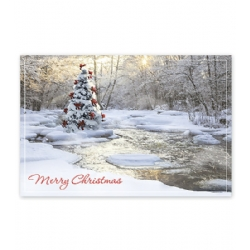 Holiday Postcards- Tranquil Christmas