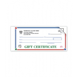 Individual Gift Certificates- St. Croix