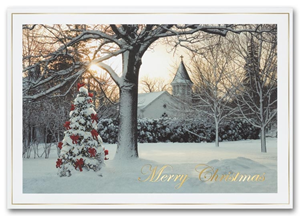 Traditional Christmas Cards - Morning Celebration