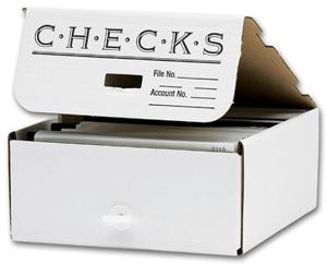 Check Storage Boxes