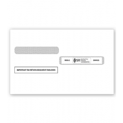 W-2 Tax Envelopes - Double-Window, Self-Seal