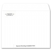 White Mailing Envelopes, Open Top