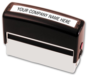 Custom Self-Inking Pay-To Stamp