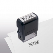 103001, Past Due Stamp - Self-Inking