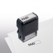 103007, Paid w/ Open Box Stamp - Self-Inking