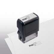 103010, Paid w/ lines Stamp - Self-Inking