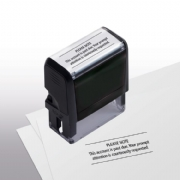 103013, Please Note Stamp - Self-Inking