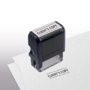 103016, Client's Copy Stamp - Self-Inking