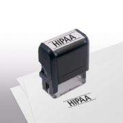 103018, HIPAA Stamp - Self-Inking