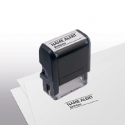 103019, Name Alert Stamp - Self-Inking