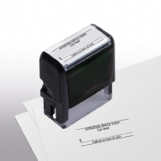 103021, Co-Pay Stamp - Self-Inking