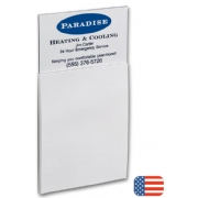 108680, BIC Business Card Magnet with Notepad