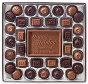 Medium Holiday Chocolate Gift Boxes: Truffles