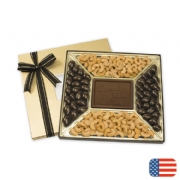 Holiday Chocolate Gift Boxes: Almonds & Cashews