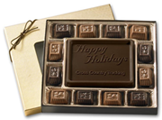 Small Holiday Chocolate Gift Boxes: Truffles