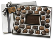 Medium Holiday Chocolate Gift Box: Truffles