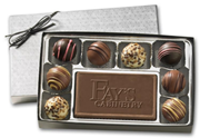 Gourmet Chocolate Truffles Gift Box