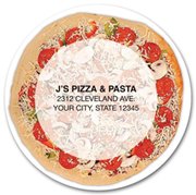 Personalized Pizza Magnets