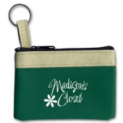 109061, Keyring Zippered Classic Pouch
