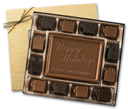 Milk Chocolate Retail Truffles Gift Boxes