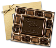 Dark Chocolate Contractor Truffle Box