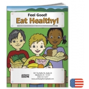 109278, Feel Good! Eat Healthy Coloring Book
