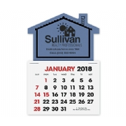 2018 House Shaped Label Calendar