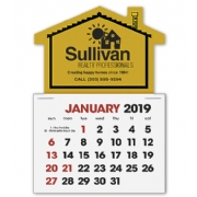 2019 House Shaped Label Calendars