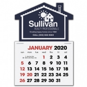 2020 House Shaped Label Calendars