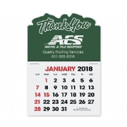 2018 Self-Adhesive Calendar - Thank You