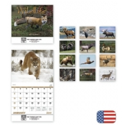 2017 Wildlife Themed Wall Calendars