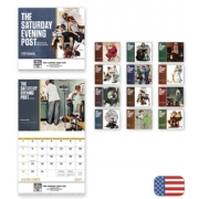 2017 Saturday Evening Post Wall Calendar