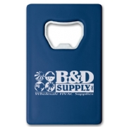 109423, Credit Card Bottle Opener