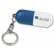 109435, Capsule Pill Holder Key Ring